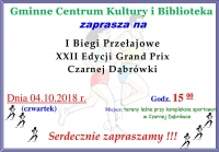 XXII Edycja Grand Prix Czarnej Dąbrówki
