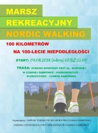 Marsz Rekreacyjny Nordic Walking