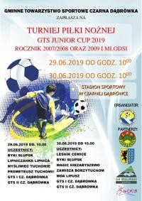 Turniej Piłki Nożnej GTS Junior CUP