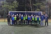 Udane szkolenie piłkarskie  w Czarnej Dąbrówce