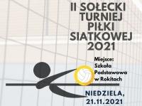 II Sołecki Turniej Piłki Siatkowej 2021