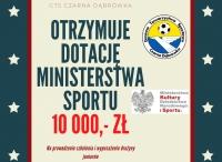 GTS Czarna Dąbrówka z dofiannsowaniem z Ministerstwa Sportu